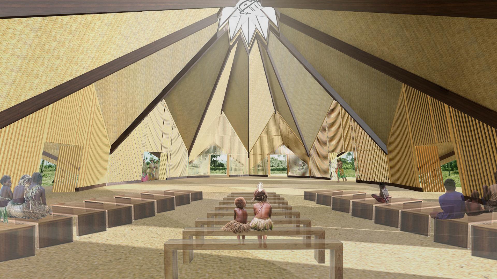 Diseño del Templo de Vanuatu develado – La Fe Bahá\'í – República ...